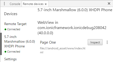 run ionic project on android emulator
