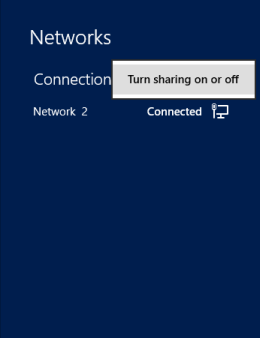 Changing Network Location to Private in Windows 8.1 ...