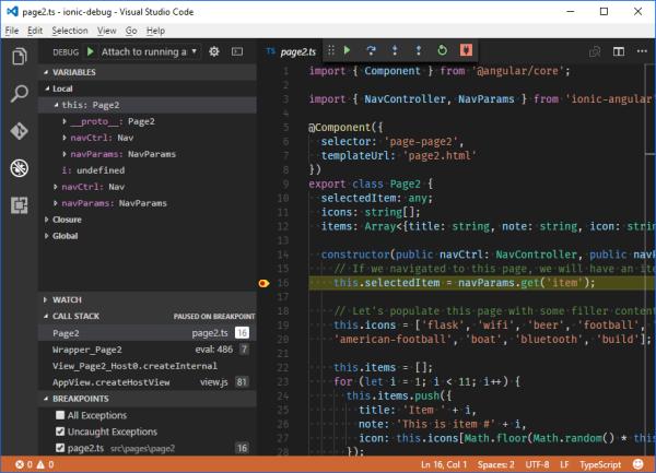 Debug Ionic 2 Apps in VS Emulator for Android | Damir's Corner