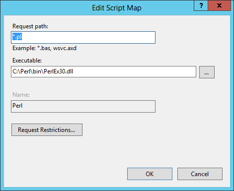Add Script Map...